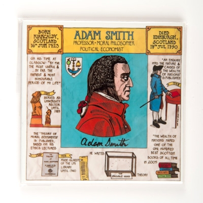 Adam Smith Coaster